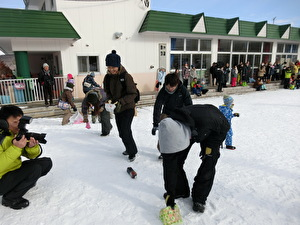 雪中運動会⑥