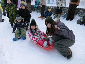 雪中運動会④